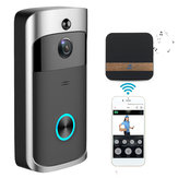 Trådløs kamera Video Doorbell Home Security WiFi Smartphone Fjernbetjening Video Rainproof