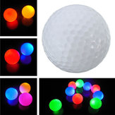 Electronic Light Up Flashing LED Golf Ball Night Light Lámpara para regalo deportivo
