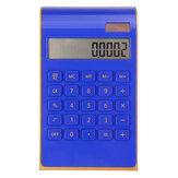 Calculadora Eletrônica Solar Dual Power Calculadora de mesa ultrafina de 10 dígitos para uso escolar