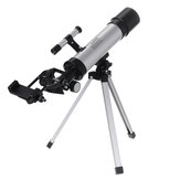 90X Professional Astronomical Monocular Telescope Space Reflector Scope Refractor Tripod Barlow Lens 2 Eyepieces