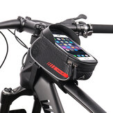 WHEEL UP Bicycle Bag Front Frame MTB Bike Bag Waterproof Touch Screen Top Tube 6-7.2 Inch Phone Bag Case Cycling Accessories