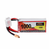 ZOP Power 11.1V 1000mAh 100C 3S Lipo Battery XT30 Plug for XK X450 VTOL Airplane