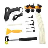 110-240 V 60 W Dent Dent Extrator Kit de Ferramentas Dent Paintless Reparação PDR Ferramentas com Hot Melt Glue Gun