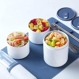 Kalar 990ml Bento Lunch Box Posiłek Pojemnik na żywność Kuchenka mikrofalowa Chłodnica Ogrzewanie Piknik Grill od