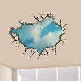 3D Sky Wandtattoos Deckenloch Wandkunst Aufkleber 22 Zoll Removable Home Decor