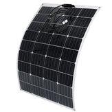 100W 18V panneau mono monocristallin très flexible de tuile de panneau solaire imperméable