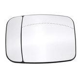 Car Passenger Side Wing Mirror Heated Glass Electric For Vauxhall Vivaro Van 2015+