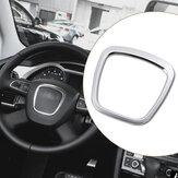 سبائكالألومنيومسيارةعجلةالقيادةملصق الجسم شعار تريم لأودي A3/A4/A5/Q5/Q7