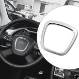 AluminiumlegeringAutoStuurwielStickerBodyEmbleem Trim voor Audi A3/A4/A5/Q5/Q7