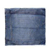 33x30cm 200gsm Blue Mixed Carbon Fiber Cloth And Aramid Blended Fabric Plate Plain Weave Matte