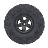 1PC REMO P7971 RC Car Wheel Tire For 1/10 1093-ST/1073/SJ 2.4G 4WD Waterproof Brushed Crawler Rc Car Parts