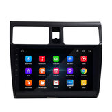 YUEHOO 10,1 Inch Android 10,0 Coche estéreo Radio reproductor Multimedia 2G / 4G + 32G GPS WIFI 4G FM AM RDS bluetooth para Suzuki Swift 2005-Up