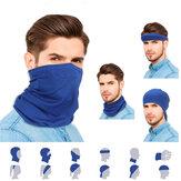 6 قطع متعددة الوظائف الحجاب قابلة لإعادة الاستخدام صامد للريح ضد الغبار تنفس ظلة الرقبة حامي الغبار واقية للتنفس ظلة الرقبة حامي