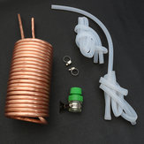 Copper Immersion Chiller koelbuis met Silicone Tube Home Brew Beer