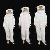 養蜂保護具ジャケットベールフルボディスーツ帽子スモック養蜂ツールセット
