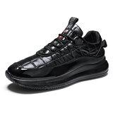 Heren trendy donzen stoffen comfortabele antislip casual lage sportschoenen