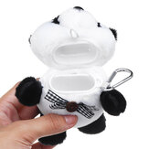 Plush Panda Cartoon Earphone Storage Case For Airpods 1 2 Shockproof Dust-proof Protective Headset Cover