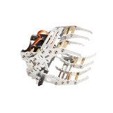 Zestaw mechanicznych pazurów robota G8 do kombinezonu robota MR996R Servo
