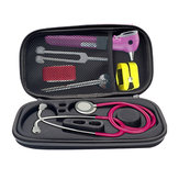 Portable Hard Zipper Stethoscope Carrying Bag Travel Case Storage Box Shockproof