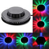 Mini 48LED 5W RGB Sunflower Laser Projector Lighting Disco Stage Light Bar DJ Sound Background Wall Light Christmas Party Lamp