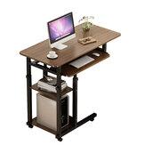 4 rétegű laptop asztali asztal állítható hordozható notebook számítógép asztali kocsi kanapé tálca íróasztal íróasztal otthoni irodához