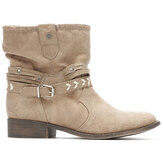 Large Size Buckle Comfy Ankle Boots For Women