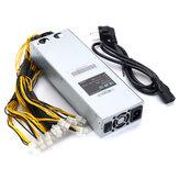 176-264V 1600W Mining Rig Mining Power Supply Máquina de mineração AntMiner APW3-12-1600 PSU