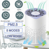 Mini UV Sterilization Air Purifier USB Charging Low Noise Removal of Formaldehyde PM2.5 for Home Office Car