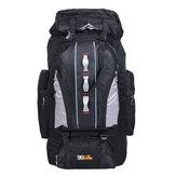 100L Large Capacity Climbing Nylon Rucksack Waterproof Sports Travel Hiking Backpack