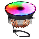 DC 12V 4Pin Colorful Backlight 120mm CPU Cooling Fan PC Heatsink for Intel/AMD For PC Computer Case