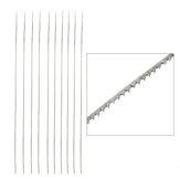 12 adet Testere Bıçağı Demir Testeresi blade Ağaç İşleme Ayarlanabilir Jewlery için Testere Çerçeve Testere Bıçağı