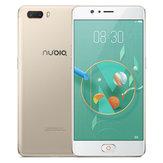Nubia M2 Global Rom 5.5 pulgadas 4GB RAM 64GB ROM Qualcomm Snapdragon 625 Ocho Núcleos 4G Teléfono Inteligente