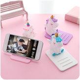 Uniwersalny Unicorn Uchwyt na telefon stacjonarny na smartfon iPhone Samsung Huawei Xiaomi LG Vivo Oppo