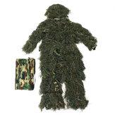 Woodland Camo camuflagem roupas árvore 3D caça adultos Ghillie Suit