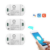 Tuya Smart WIFI Home Switch Led Light Universal Module DIY Smart Life WIFI Switch Supports 2 Way Control Work with Alexa Google Home Smart Life