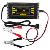 12V oplader Met LED Intelligent Display Lader Voor Auto Motor Loodzuur Batterij