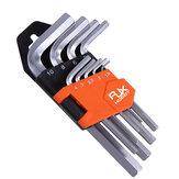 9шт RJXHOBBY шестигранный ключ шестигранный ключ Гаечный ключ набор 1,5 мм до 10мм ключ шестигранный набор