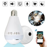 E27 360 ° Panorama Wireless Widden WIFI 960P HD 130W Kamera LED Glühlampe-Sicherheitslampe AC220V