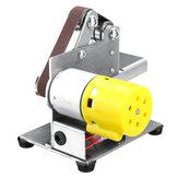 Mini ponceuse à bande électrique bricolage polissage meulage affûteuse à Angle fixe lame bords de coupe de bureau outil électrique