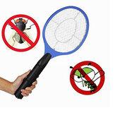 3 Lagen Multifunctionele Elektrische Muggenmepper Batterij Handheld Racket Muggenmoordenaar voor thuis