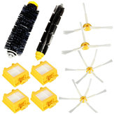 10pcs Brushes and Filter Vacuum Parts for 700 Series Vacuum Cleaner Accessories Replacement