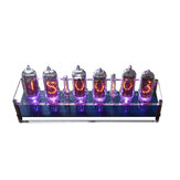 5V 1A In14 Nixie Tube LED Clock Glow Tube Clock Module Board Motherboard Digital Clock With Tubes Assembled