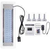 9.5 W 48 LED RGB Uzakdan Kumanda Akvaryum Işık Lamba 40-56 cm Balık Tankı için Fit