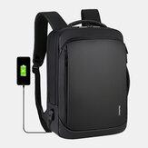 Męski wielofunkcyjny plecak typu Loptop z portem ładowania USB