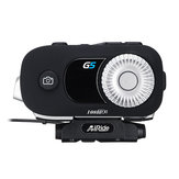 AiRide G5 3500M 1080P Casco moto fotografica DVR Registratore di guida per cuffie interfono con funzione bluetooth Interphone