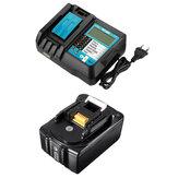 DC18RF Sostituzione Batteria Caricatore 18V 4A LiIon Batteria Sostituzione utensile elettrico Batteria con LCD Display per Makita