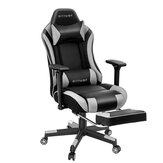 BlitzWolf® BW-GC5 Gaming Chair Ergonomic Design 180°Max Reclining 4D Adjustable Armrest Thicken Spring Cushion with Footrest for Home Office