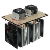 Dual-core Semiconductor Refrigeration Peltier Air Cooling System DIY Kit 144W 12V