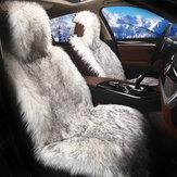 Coprisedile per seggiolino anteriore per auto invernale in peluche