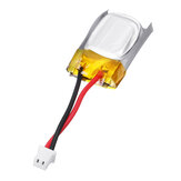 3.7V 50mAh 1S Mini LiPo Batteria Molex 2P 1.25mm Connettore 10mm 1.55g per Tygzs M1 KFPLAN KF606 Vapor RC Airplane